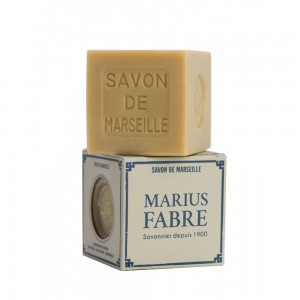 Marius Fabre Marselio muilo kubas su palmių aliejumi WHITE 400 g