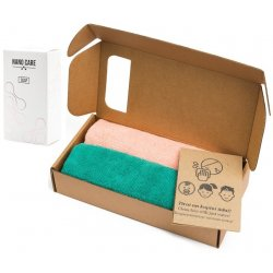 Greenwalk  šluostės makiažui ir kūnui valyti 2 vnt & Nano Care muilas