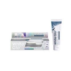 WHITE GLO BIO-ENZYME 24HR balinamoji dantų pasta + šepetėlis