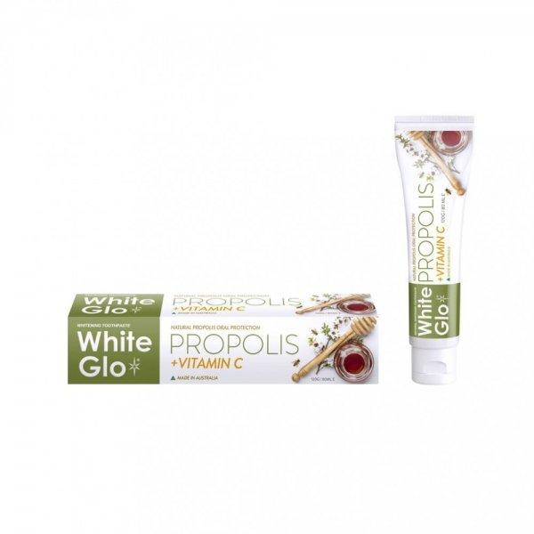 WHITE GLO PROPOLIS + VITAMIN C balinamoji dantų pasta