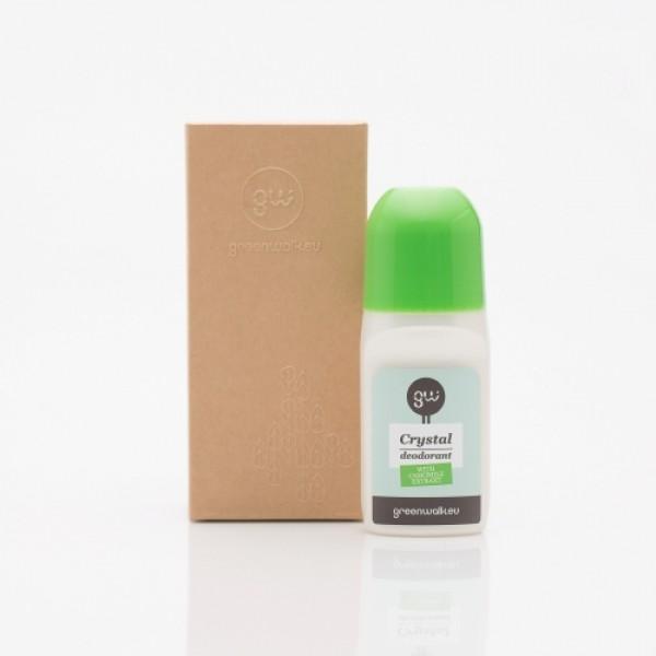 Greenwalk rutulinis dezodorantas iš gamtinių kristalų Roll-On Deo