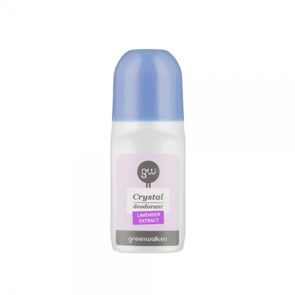 """Rutulinis dezodorantas iš gamtinių kristalų ROLL-ON DEO """"LAVANDER , 90 ml"""