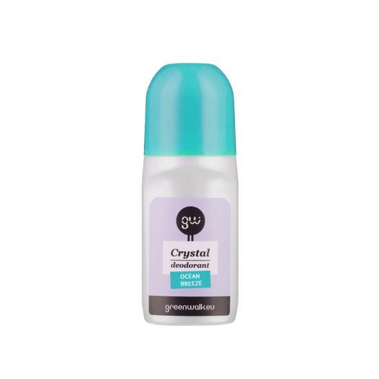 """2 už 1 kainą ! Rutulinis dezodorantas iš gamtinių kristalų ROLL-ON DEO """"OCEAN"""", 90 ml"""