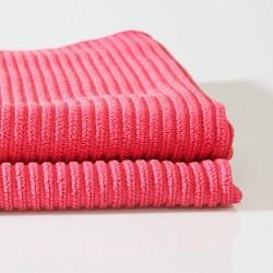 2 už 1 kainą !  Universali mikropluošto šluostė Lux , raudona