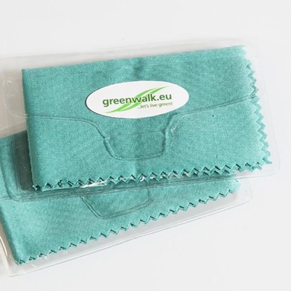 Greenwalk® audinys optikai valyti su dėklu