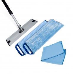 Greenwalk mažas grindų valymo rinkinys + dovana šluostė stiklui