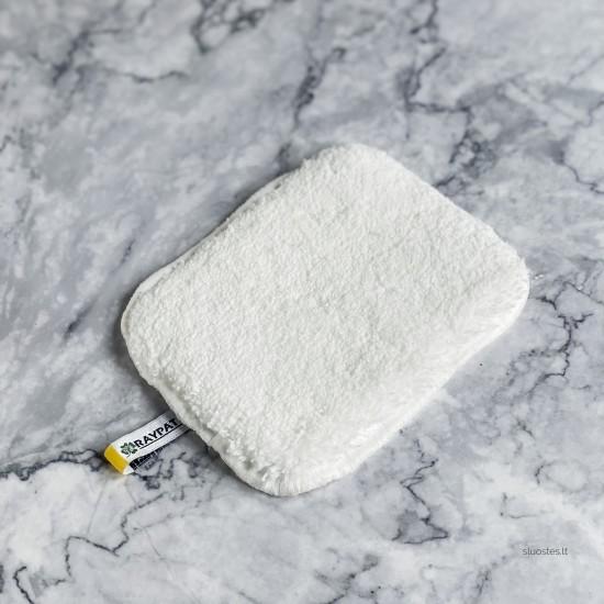 Nova  balta pirštinė  tekstilės drėgnam  valymui Raypath Nanosilver