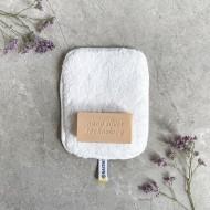 NanoSilver rinkinys šlapiam valymui - natūralus muilas ir mini vienpusė balta šluostė Raypath