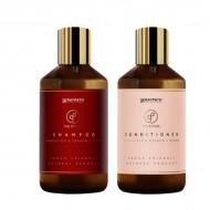 Raypath šampūnas ir kondicionierius su Calamus Draco palmės ekstraktu ir nano sidabru