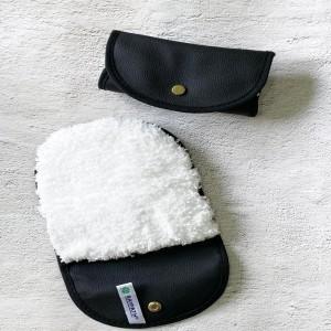 NOVA  balta pirštinė  tekstilės drėgnam  valymui Raypath Nanosilver (kelioninė )